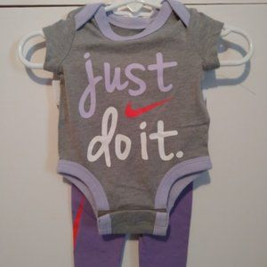 Nike Just Do it Newborn Outfit